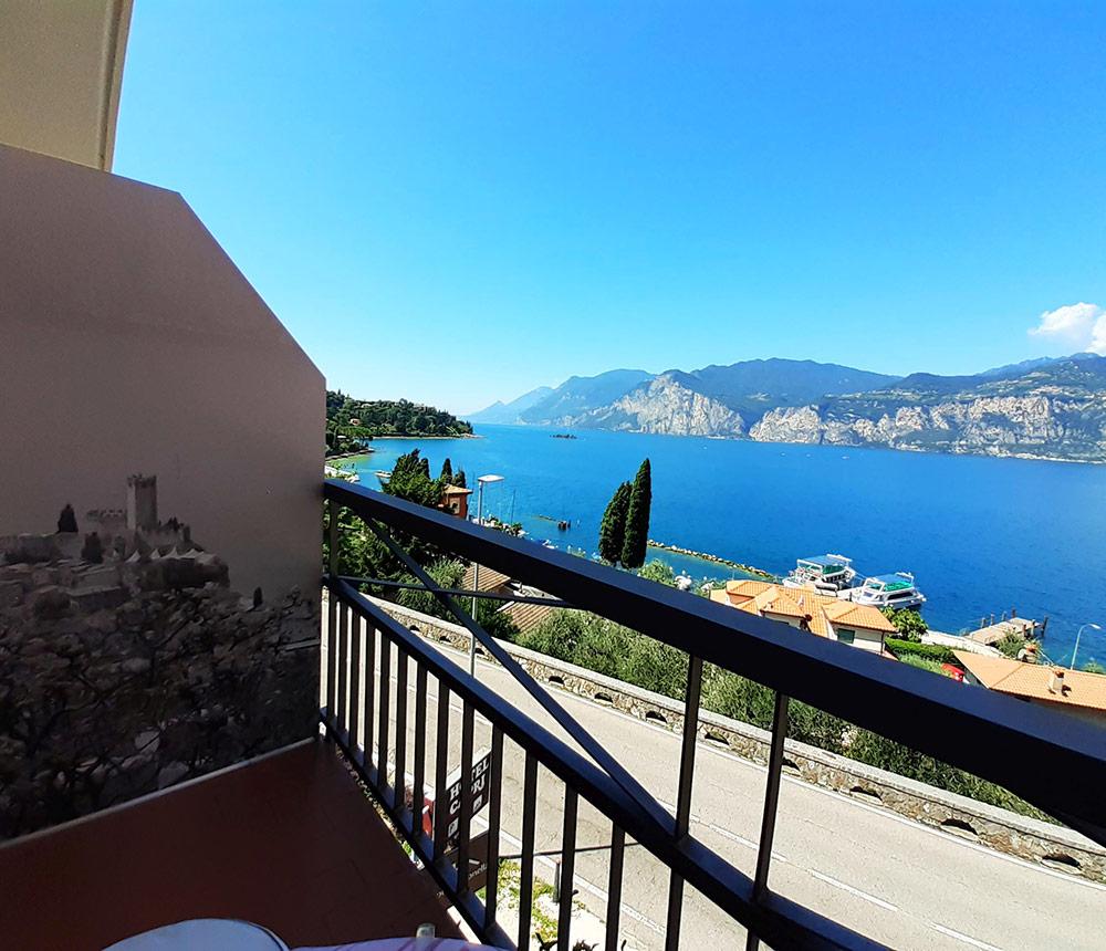 Hotel Antonella Malcesine - Home - Slider - vista balcone