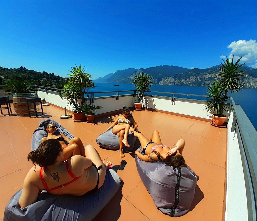 Hotel Antonella Malcesine - Home - Slider - terrazza