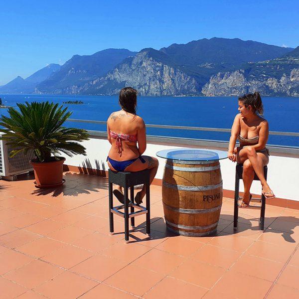 Hotel Antonella Malcesine - Hotel - Gallery - terrazza
