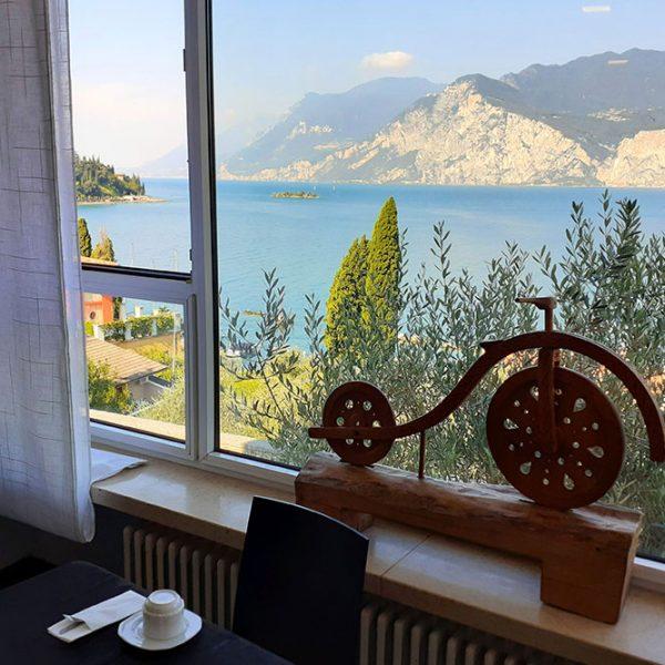 Hotel Antonella Malcesine - Hotel - Gallery - colazione - vista lago