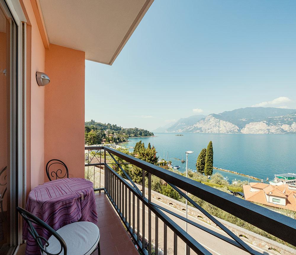 Hotel Antonella Malcesine - Hotel - Slider - vista balcone