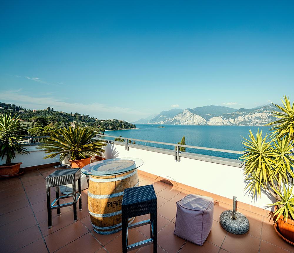 Hotel Antonella Malcesine - Hotel - Slider - terrazza