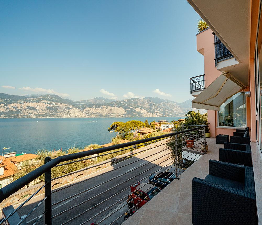Hotel Antonella Malcesine - Hotel - Slider - esterno