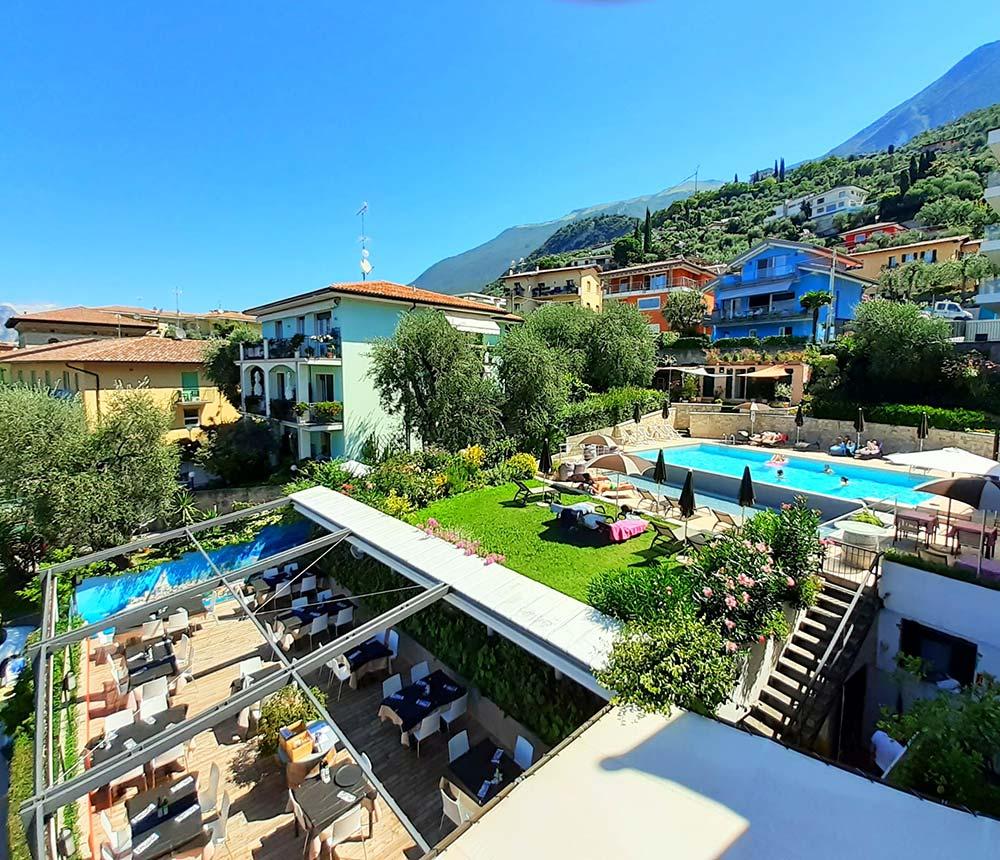 Hotel Antonella Malcesine - Hotel - Slider - vista hotel
