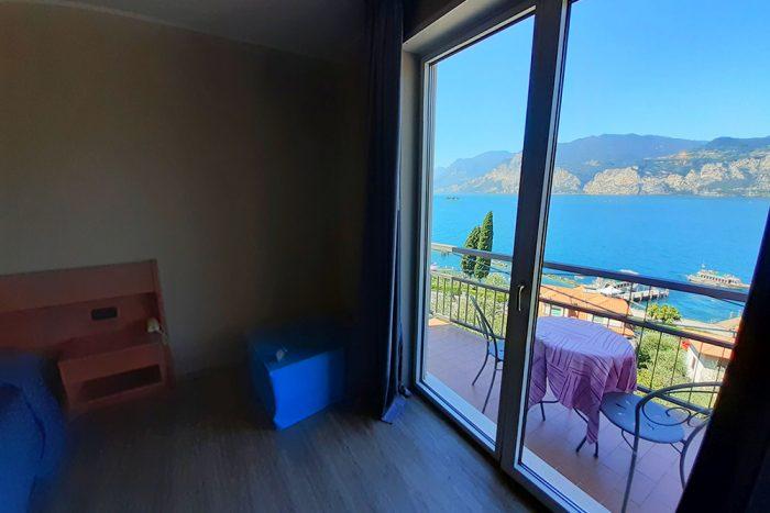 Hotel Antonella Malcesine - Camere - vista - lago - finestra