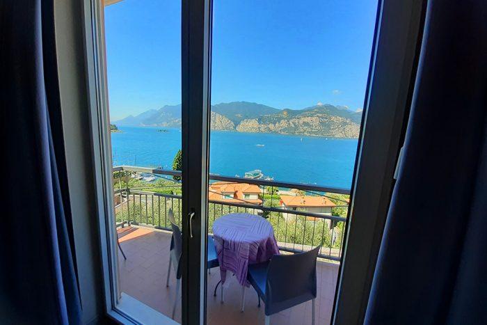Hotel Antonella Malcesine - Camere - vista - lago - vista finestra