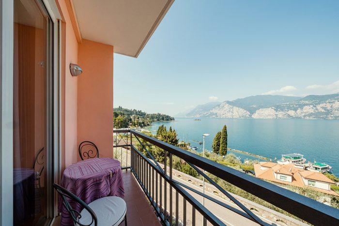 Hotel Antonella Malcesine - Camere - vista - lago - vista balcone