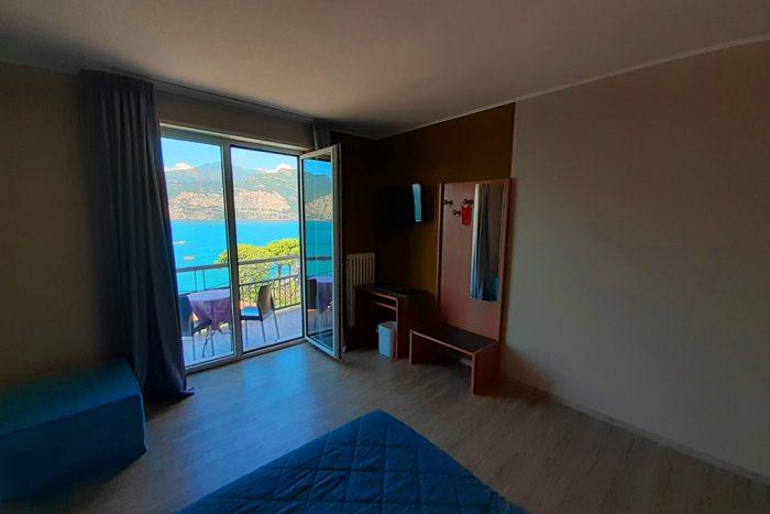 Hotel Antonella Malcesine - Camere - vista - lago - interni - balcone