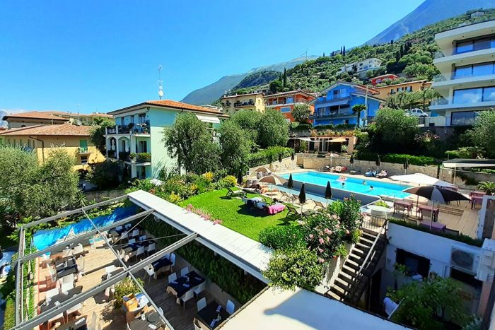 Hotel Antonella Malcesine - Camere - vista - piscina - vista hotel